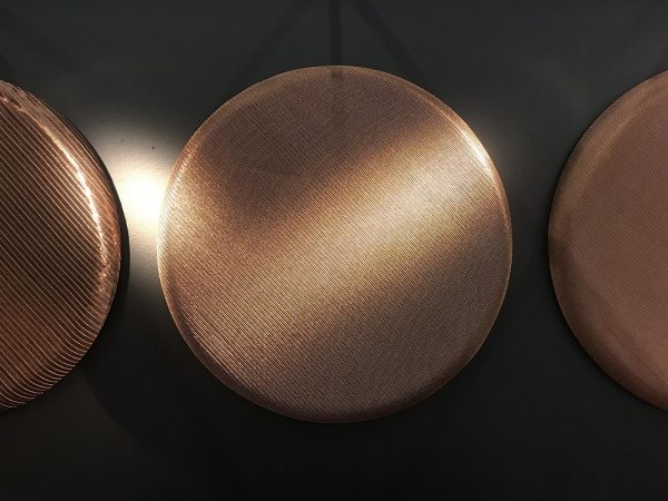 PAHLFER absorbenter med metallnät i koppar-web