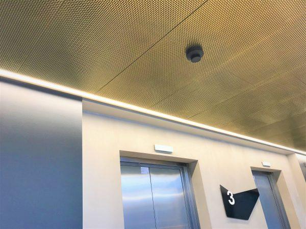 Pahlfer. SP.50 brass. Ceiling – webb