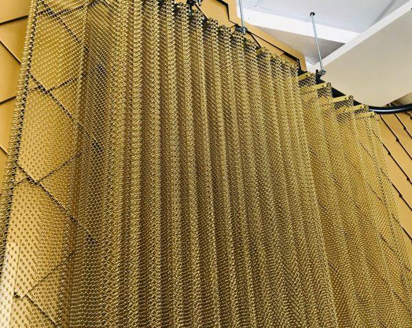 Metal mesh D.9514 Nordic Gold Pahlfer Inredning AB webb