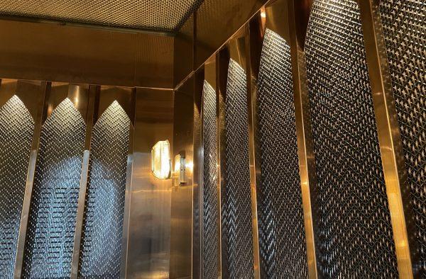 PAHLFER – Metal mesh Beirut Café Stockholm